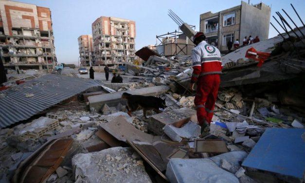 Terremoto deixa 330 mortos e 2,5 mil feridos no Irã e Iraque