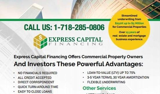 Broker Resources Express Capital Financing