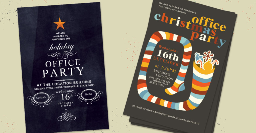 Make this Season a Snap with Holiday Party Invites - expresscopy