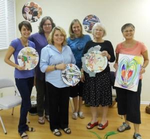 Theresa - center (back) with EAFI classmates