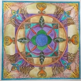 Sacred Symbols Mandala