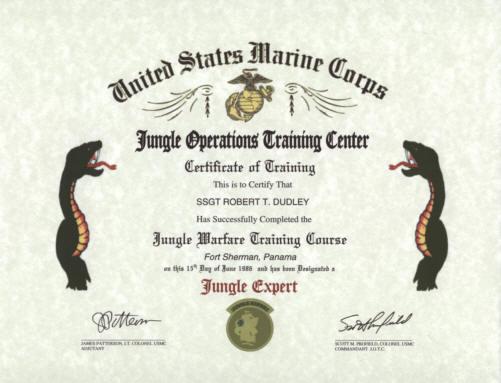army certificates of training - Sendilcharlasmotivacionales
