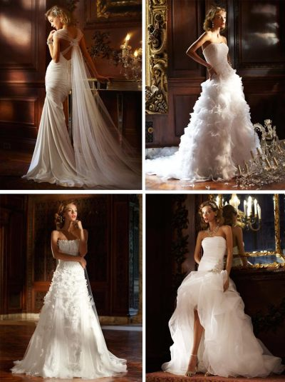 Gowns: Glamorous Wedding Dresses   Exquisite Weddings