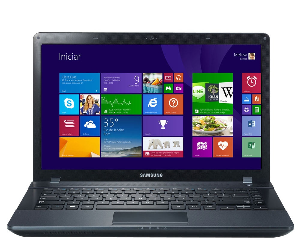 Notebook samsung core i3 4gb 500hd notebook samsung ativ book 2 270e4e kd9