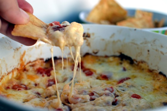 Roasted Red Pepper Cheese Dip Recipe