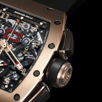 New Richard Mille's RM 011 Felipe Massa Flyback Chronograph Red Kite - Limited Edition
