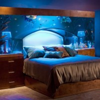 Sleep with the Fishes in Custom-made Aquarium Bed by Acrylic Tank Manufacuring