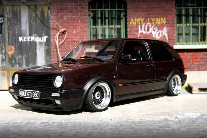 Cars Wallpaper In Front Of Skyline Golf Ii Edition One Extreme 18 Tuning 1 18