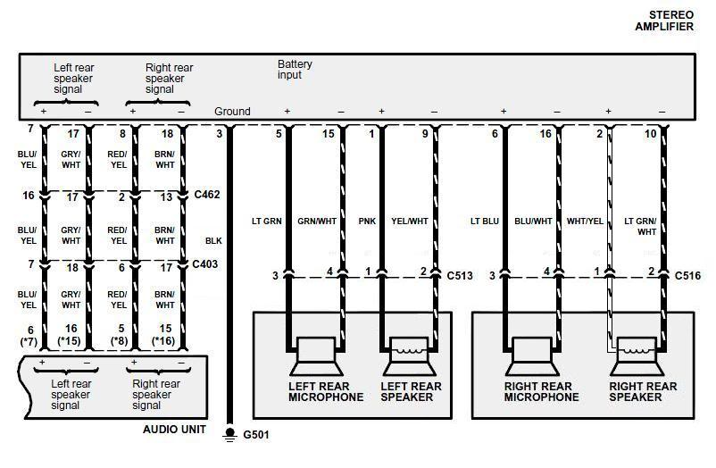 speaker wiring diagram with crossovers