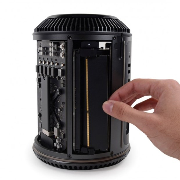 Mac Pro. Upgrading/changing the RAM is easy.
