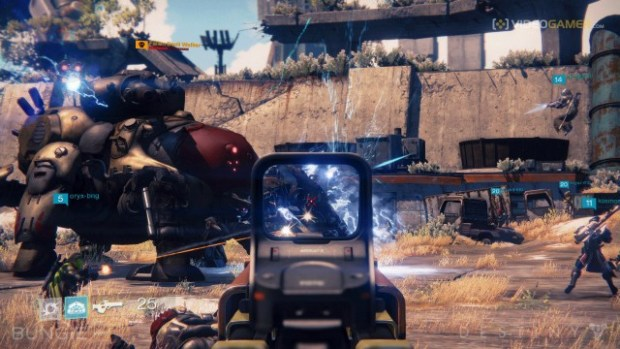 Destiny, on the PS4