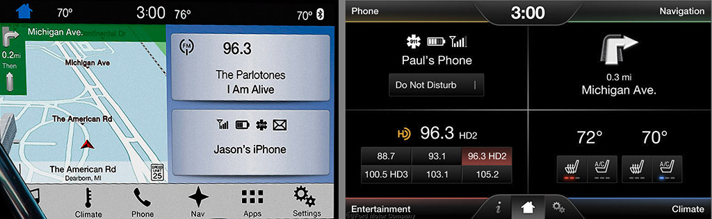 Fall Screen Wallpaper Ford Sync 3 Better And Faster If Not A Standout