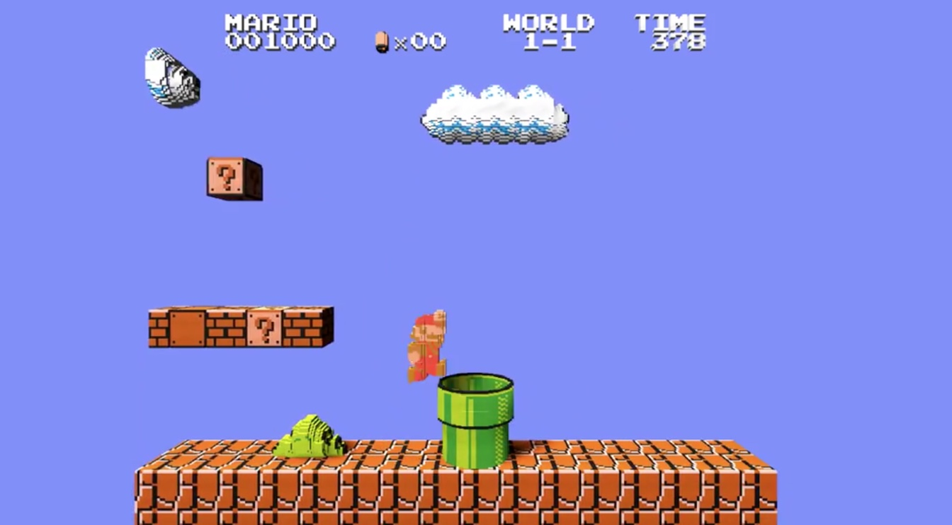 Super Mario 3d World Wallpaper This Web Based Emulator Lets You Play Nes Games In 3d