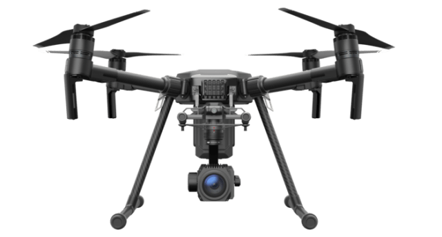 You can tell just by looking at them that the M200 drones are built for serious applications
