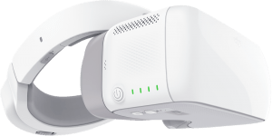 When DJI's Goggles ship they'll be an interesting alternative way to control the drone, and offer more capability than current HMDs like Microoled's Cinemizer
