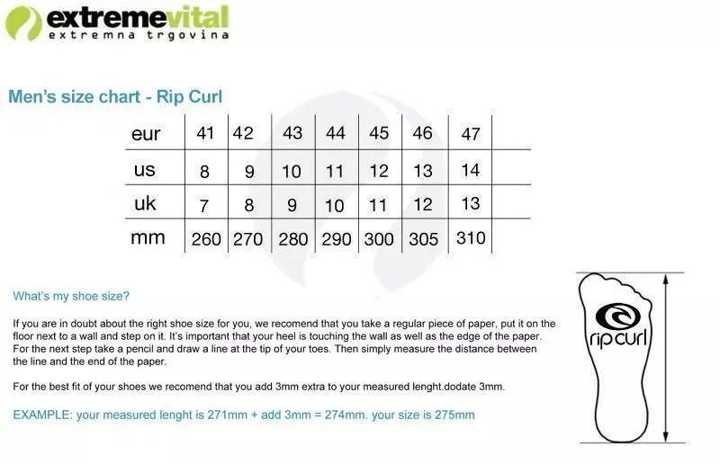 Flip flops Rip Curl OX Shop Extremevital English