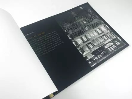 Luxury property brochure printing UK delivery