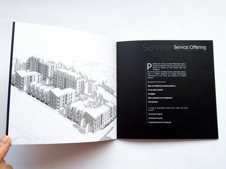 Luxury property brochure printing UK delivery