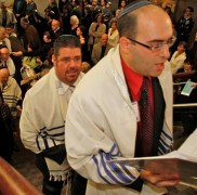Cantor Eyal Bitton at BJ Dedication