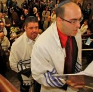 Cantor Eyal Bitton at BJ Dedication