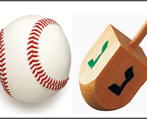 Baseball Dreidel
