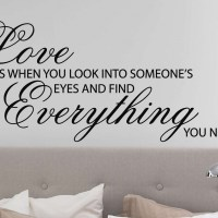 Love me like you do wall decal | wall decal | wall art decal