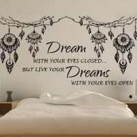 Dream catcher wall art decal sticker | wall decal