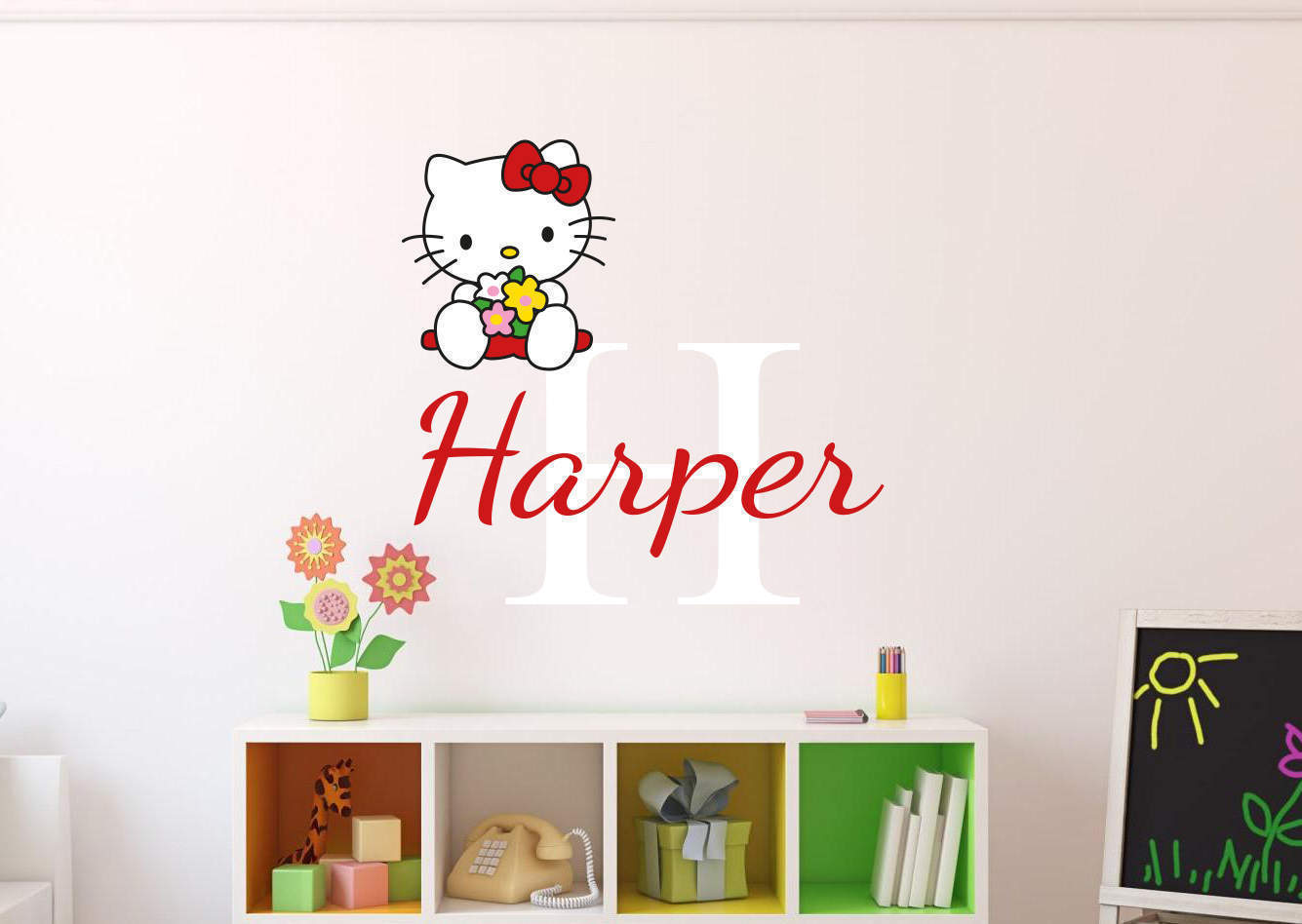 Hello Wall Decal Elitflat