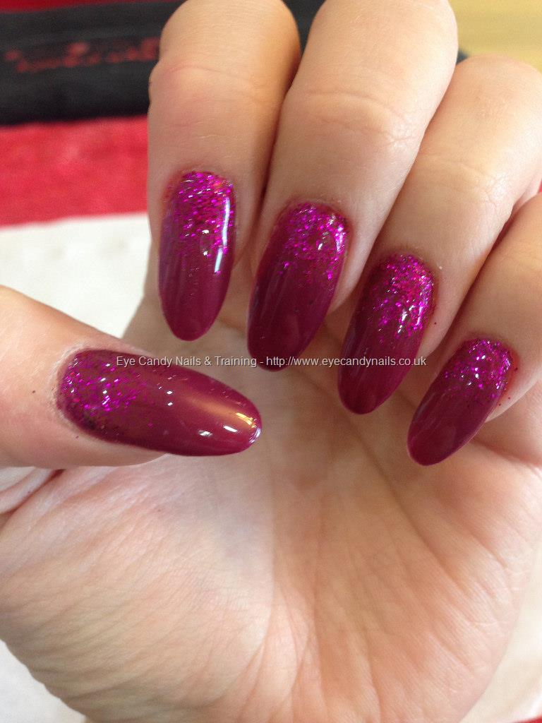 Eye Candy Nails Training Vampire Blood And Raspberry