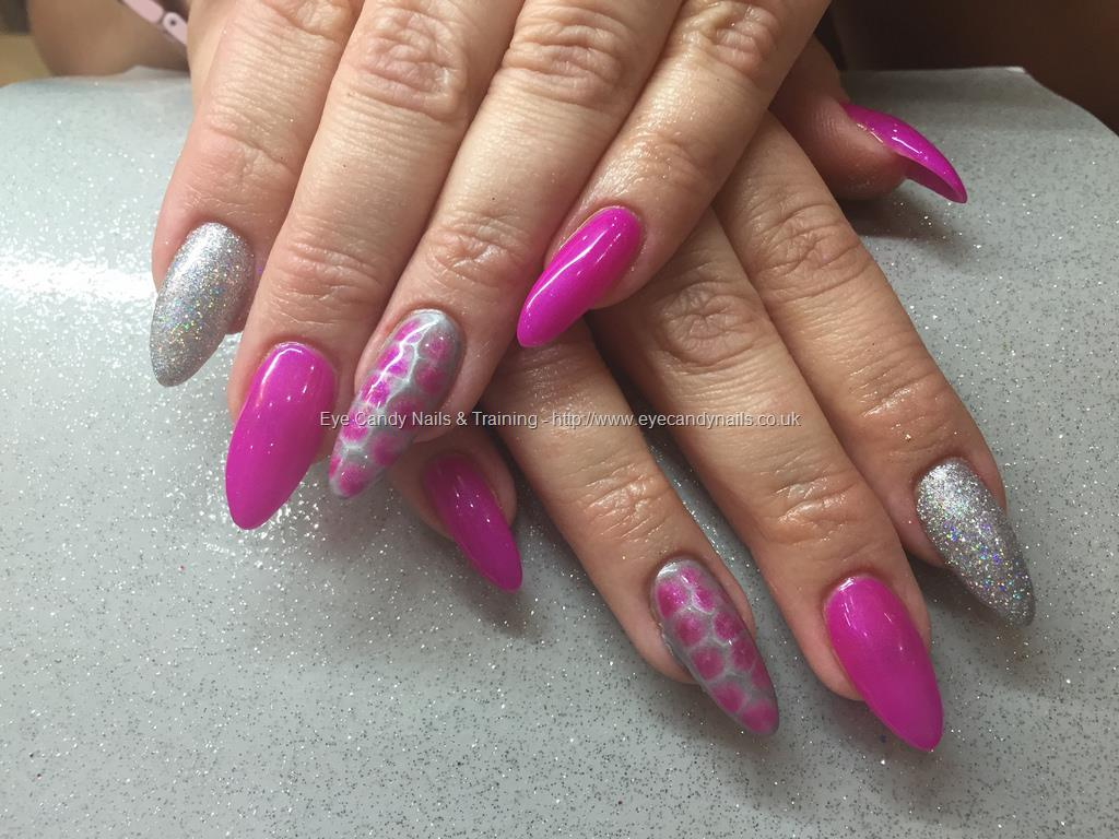 Eye Candy Nails Training Acrylic Nails With Pink Gelux