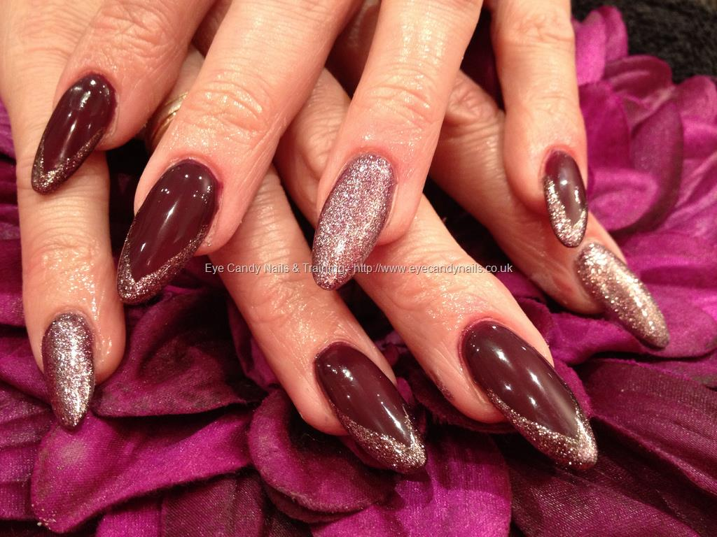 Eye Candy Nails Training Maroon Sculptures With Odd