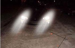 Παραθλάσεις φωτός και δυσκολία κατά τη νυχτερινή οδήγηση