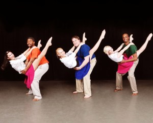 "Member of the AACC Dance Company, from left, Evelyn Paddy (Centrevile) and Arrington Lassiter (Washington, D.C.), Rachael Scaringe (Millersville) and Samuel Boquist (Baltimore) and Kelsey Garrett (Severn) and Andre Hinds (Millersville) practice a dance routine in preparation for the company's ""Spring Migration"" performances at 8 p.m. Thursday-Saturday, May 2-4, in the Robert E. Kauffman Theater of the Pascal Center for Performing Arts on the Anne Arundel Community College Arnold campus, 101 College Parkway. For tickets, contact the AACC box office at 410-777-2457 or boxoffice@aacc.edu."