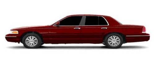 red ford crown victoria