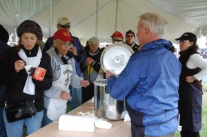 Oyster stew lovers will have the chance to sample six stews and pick their favorite in CBMM's oyster stew competition, beginning at 11am at the museum's November 2 OysterFest in St. Michaels. Event-goers can cast their votes by purchasing a commemorative sampling mug, featuring a historic oyster can design, for $6 at the festival, while supplies last. For more information about the November 2 event, visit www.cbmm.org/oysterfest.
