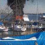 Images: Annapolis Boat Fire