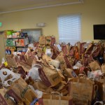 St. Mary's donates 840 bags of food to Light House
