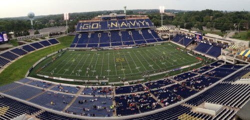 Navy Stadium Pano