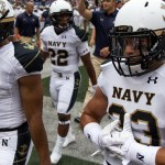 Navy held OSU for 3 quarters; fell apart in the 4th in 34-17 loss