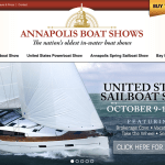 Boat shows launch new website