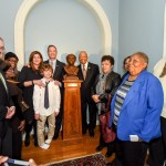 O'Malley unveils bust of Harriet Tubman in Government House