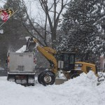 County urges residents to stay off road following #Snowzilla