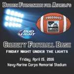 Charity Football Bash for Autism scheduled for April 15th