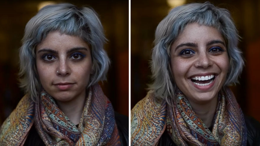 People react to being called beautiful