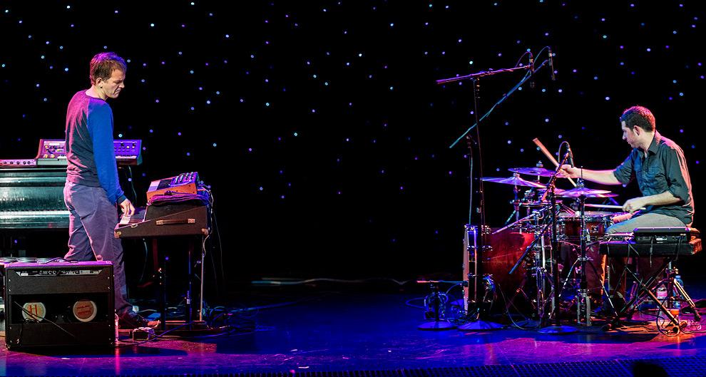JAzz photography at Earshot Jazz Festival performance of Mehliana: Brad Mehldau  & Mark Guiliana