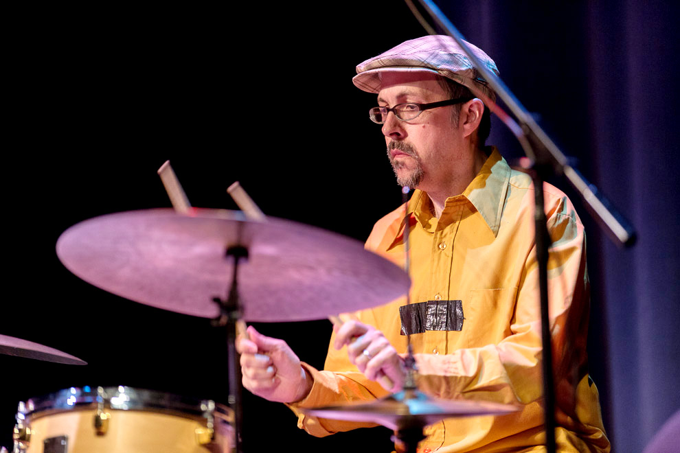 John Hollenbeck Cludia Quintet plays at the 2013 Earshot Jazz Festival