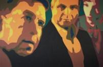 Bin ich der Hüter meines Bruders? 80 x120 cm - Acryl auf Leinwand - 2014