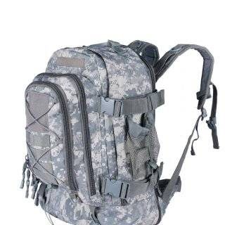 [Promotions] 40L Outdoor Expandable Tactical Backpack Military Sport Camping Hiking Trekking Bag [Factory Store]