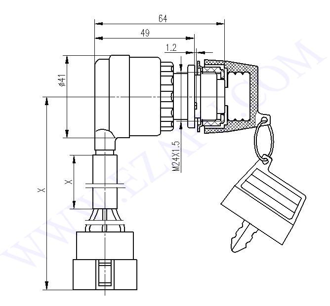 portable generator 6 wire ignition key switch ebay
