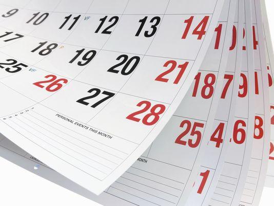 Create free printable monthly, yearly or weekly calendars - EzCalendars